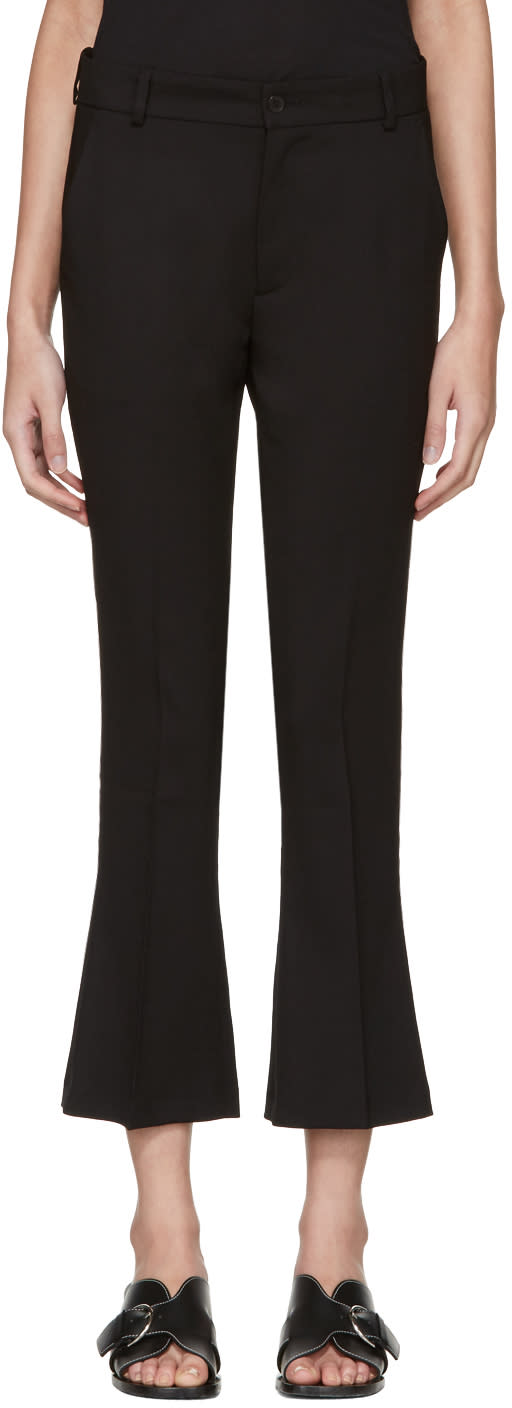 Toteme Black Vichy Trousers