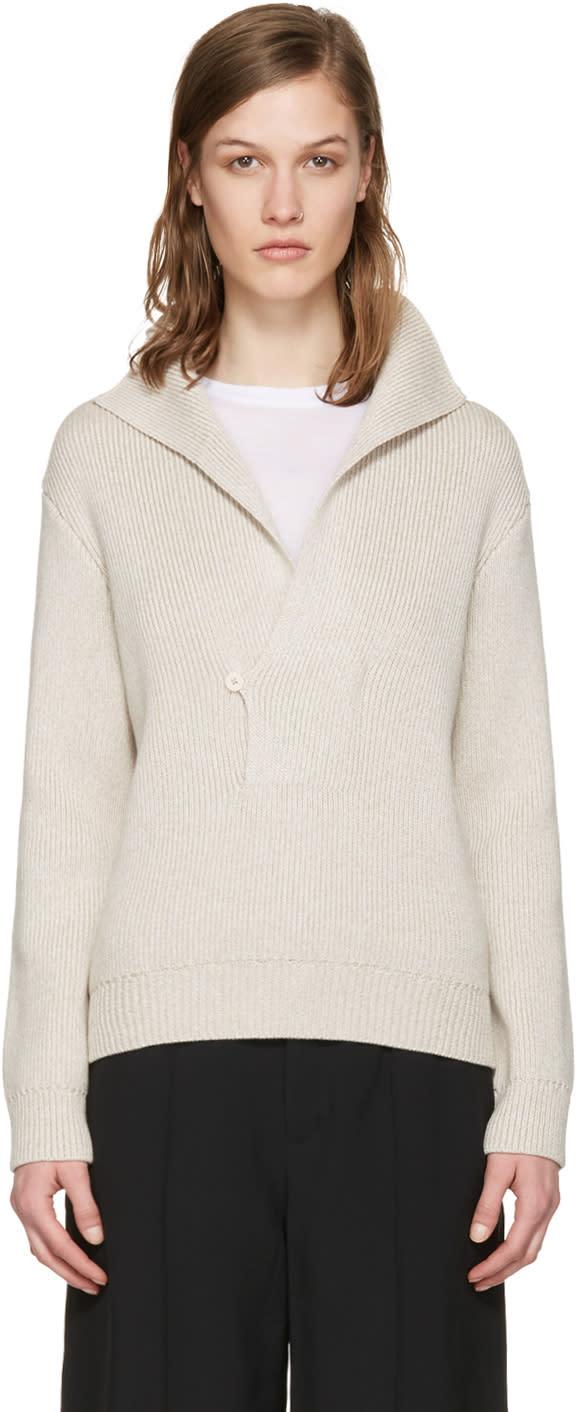 Toteme Beige Runa Sweater