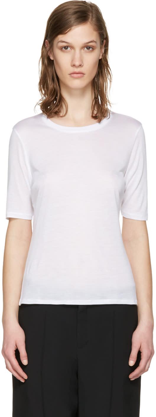 Toteme White Stockholm T-shirt
