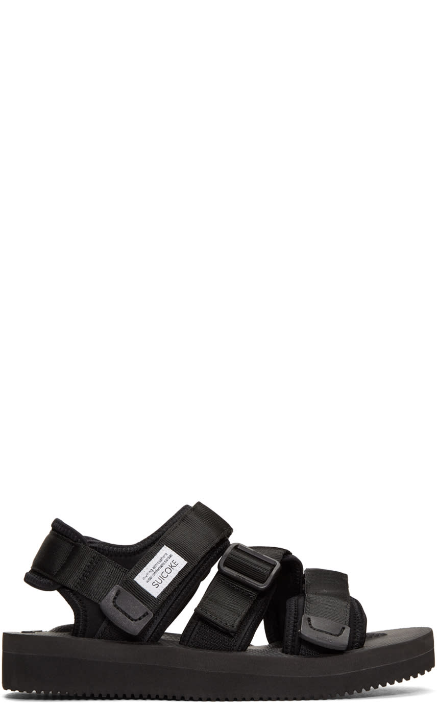 Image of Suicoke Black Kisee Sandals