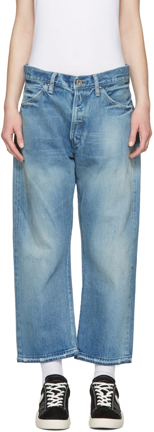 Image of Chimala Blue Selvedge Vintage Baggy Jeans