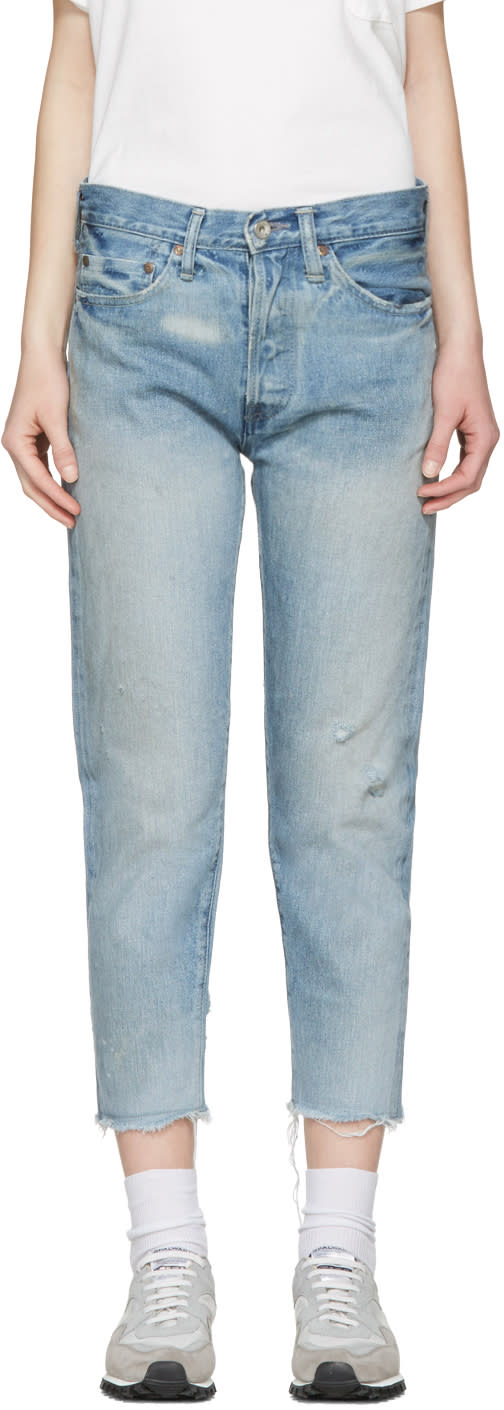 Chimala Blue Selvedge Narrow Tapered Jeans