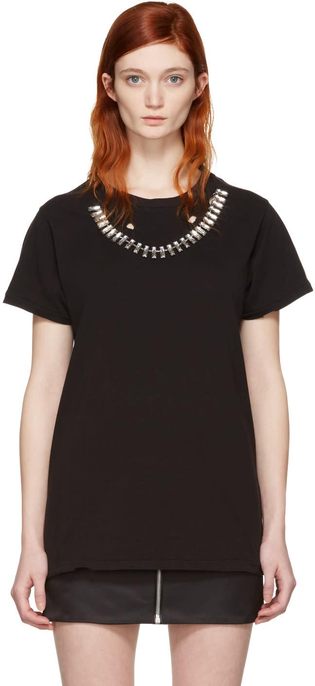 Image of Alyx Black Diamante T-shirt