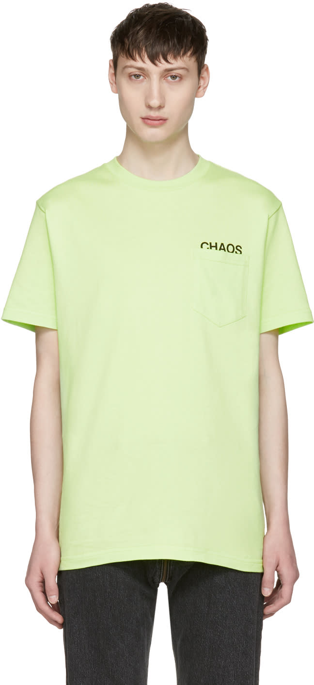 Alyx Green Pocket T-shirt