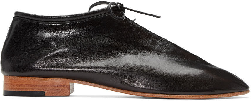 Martiniano Black Bootie Oxfords