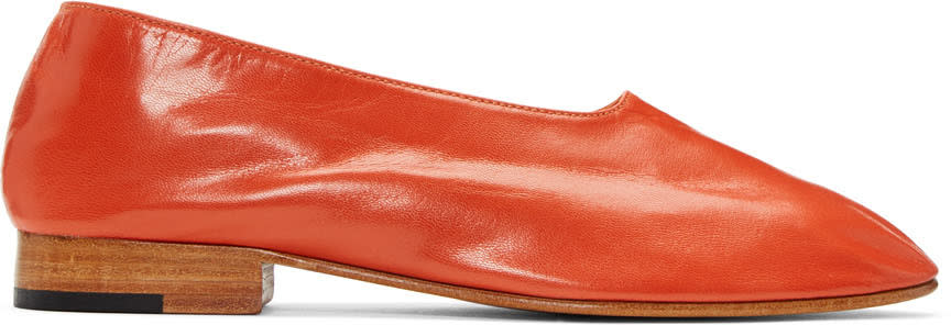 Martiniano Red Glove Flats
