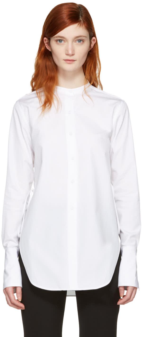 Ports 1961 White Classic Open Shirt
