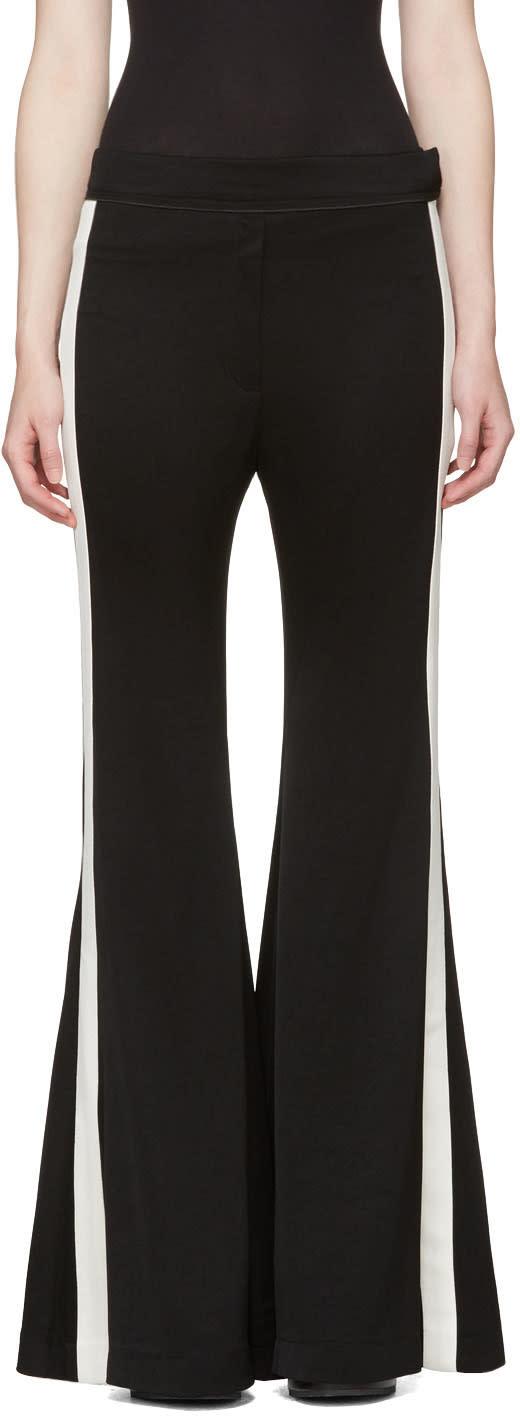 Ellery Black Lovedolls Wide-leg Flare Trousers