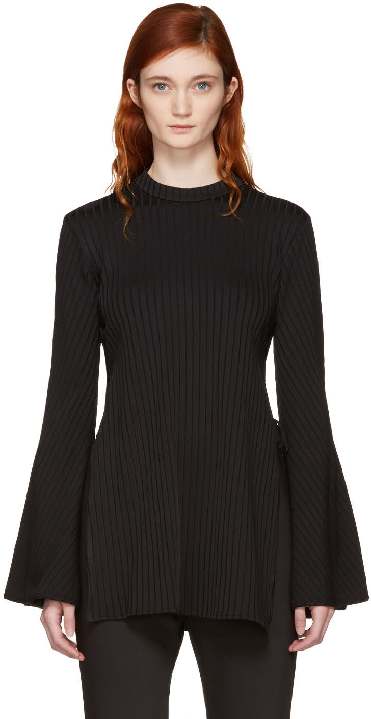 Ellery Black Teddy Girl Top