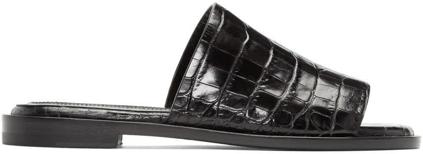Ellery Black Funplex Slide Sandals