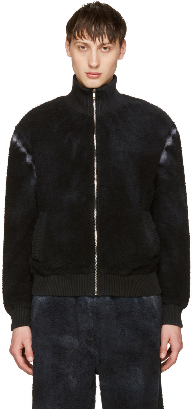 Haal Black Tauri Zip Sweater