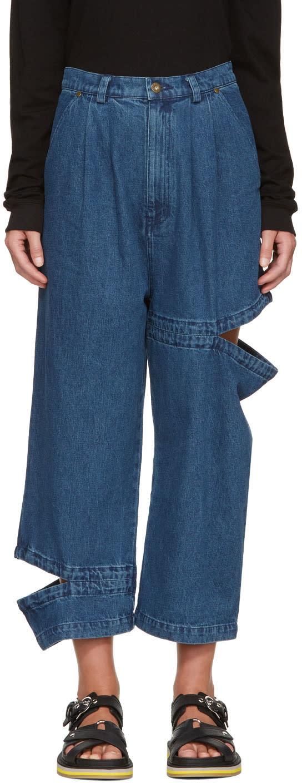 Perks And Mini Indigo Bribri Release Jeans