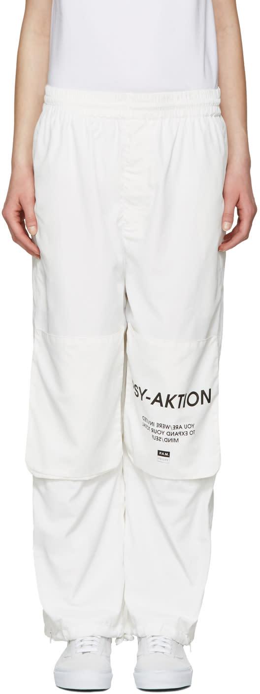 Perks And Mini White psy-aktion Track Pants