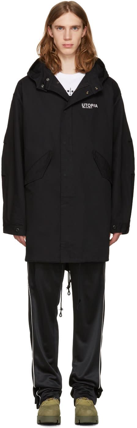 Perks And Mini Black Psyche Movement Coat