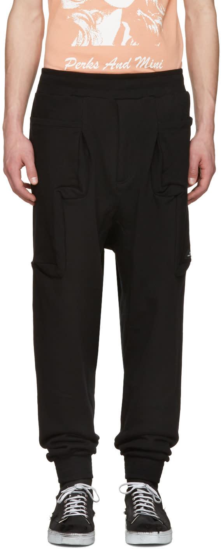 Perks And Mini Black Utopia Duplo Lounge Pants