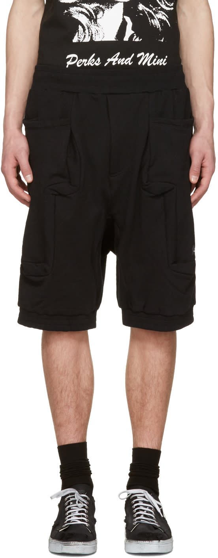 Perks And Mini Black Utopia Duplo Shorts
