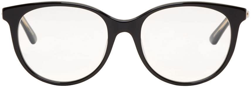 Image of Dior Black Montaigne Glasses