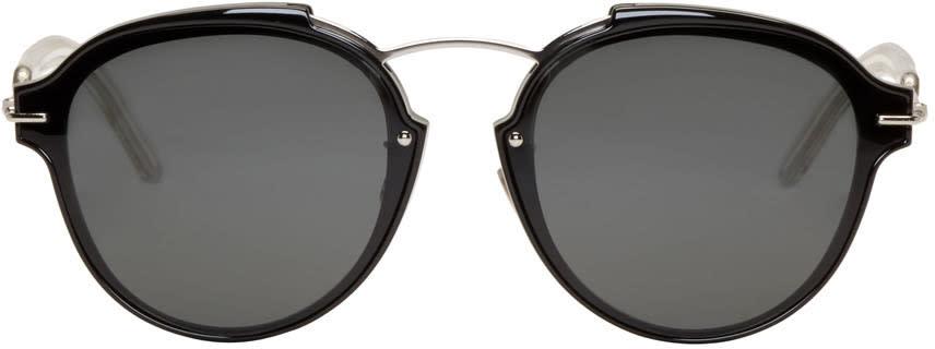 Image of Dior Black éclat Sunglasses