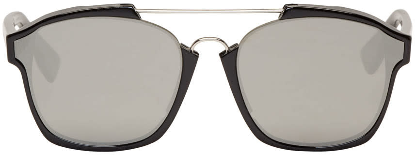 Dior Black Abstract Sunglasses