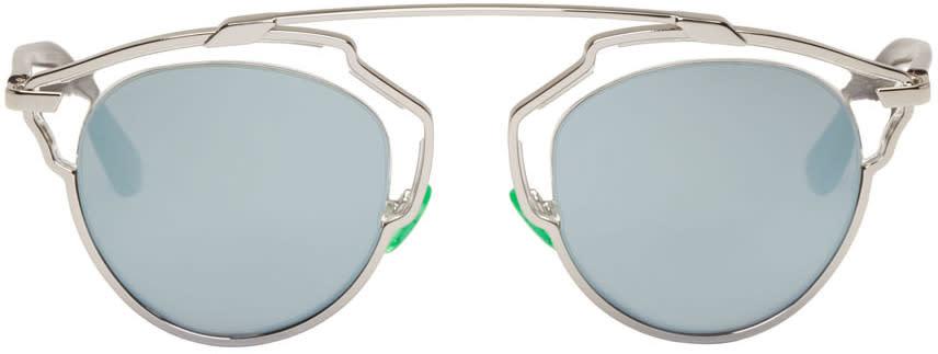 Dior Silver So Real Sunglasses