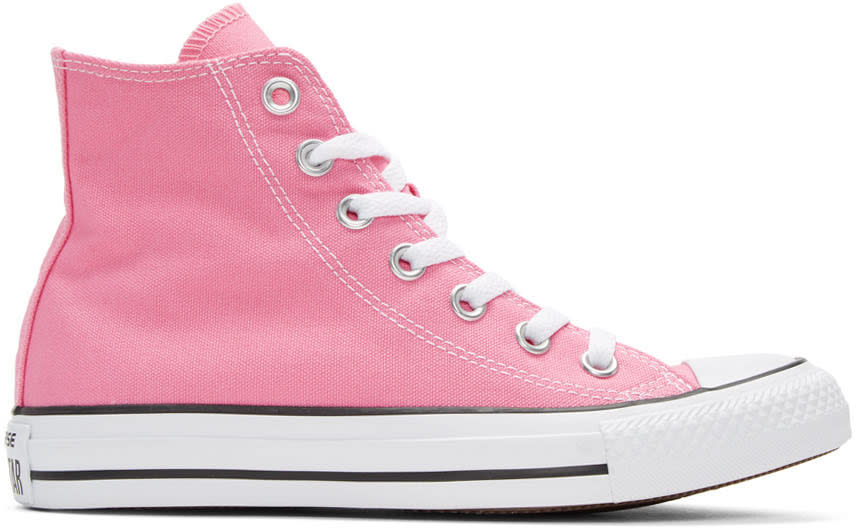 Converse Pink Classic Chuck Taylor All Star Ox High-top Sneakers