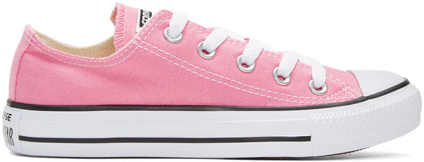 Converse Pink Classic Chuck Taylor All Star Ox Sneakers