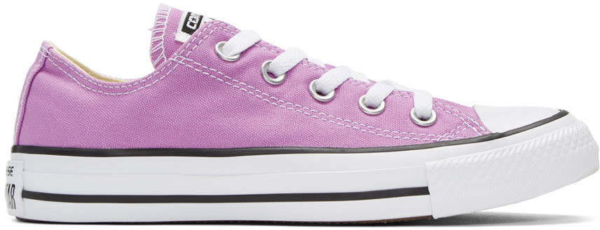 Converse Purple Classic Chuck Taylor All Star Ox Sneakers