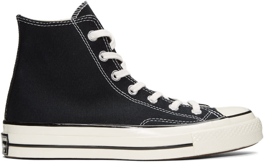 Image of Converse Black Chuck Taylor All-star 1970s High-top Sneakers