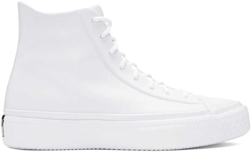 Converse White Chuck Modern Lux High-top Sneakers