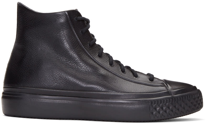 Image of Converse Black Chuck Modern Lux High-top Sneakers