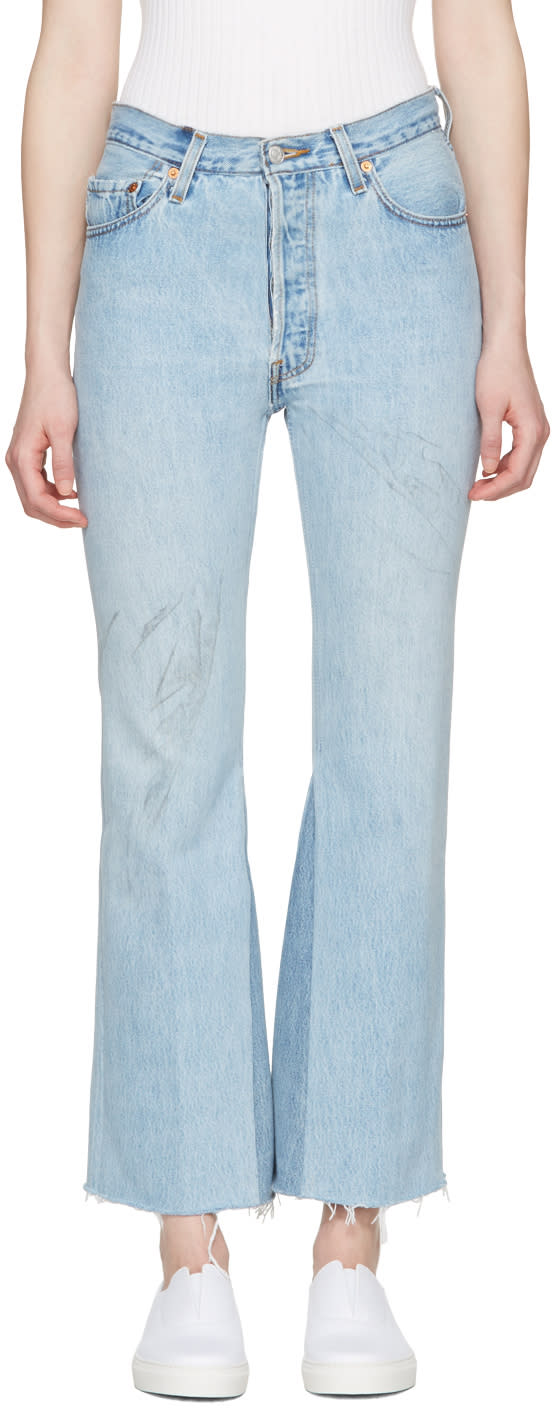 Re-done Blue The Leandra Jeans