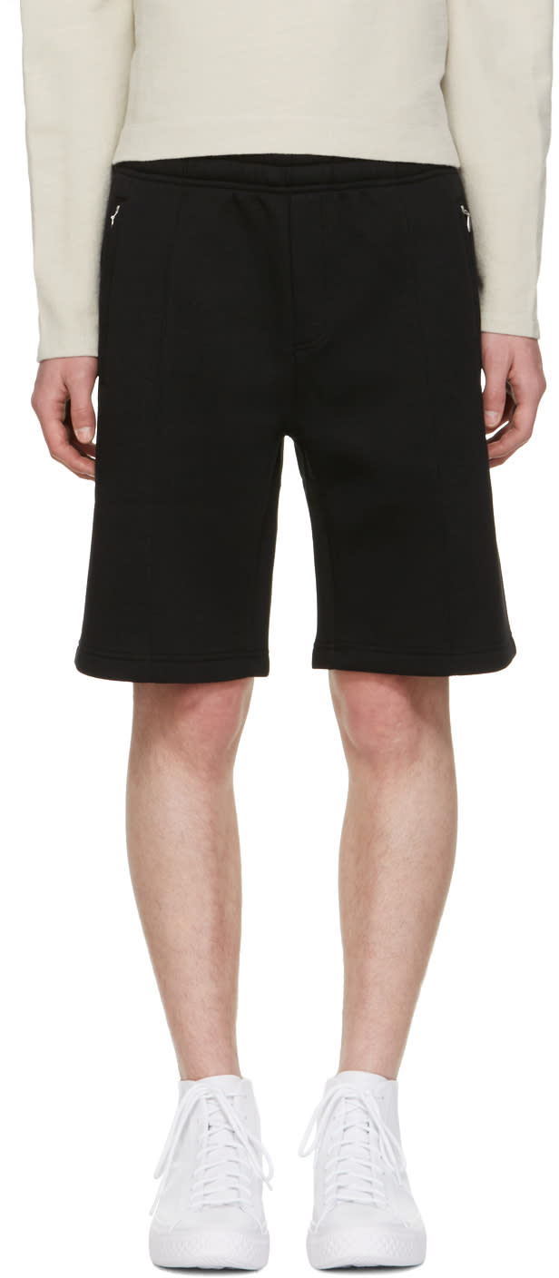 Our Legacy Black Scuba Track Shorts