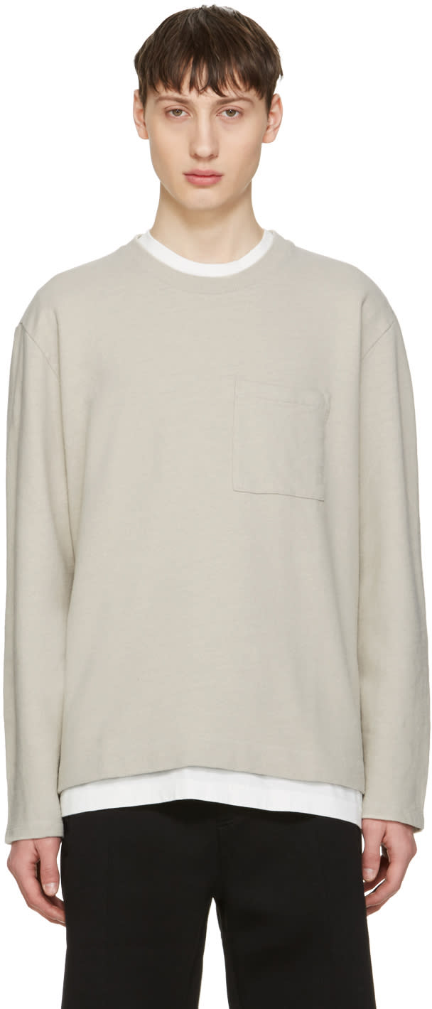 Our Legacy Beige Box Pullover