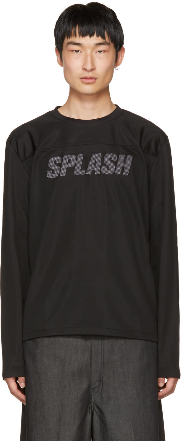 Image of Our Legacy Black splash Moto Pullover