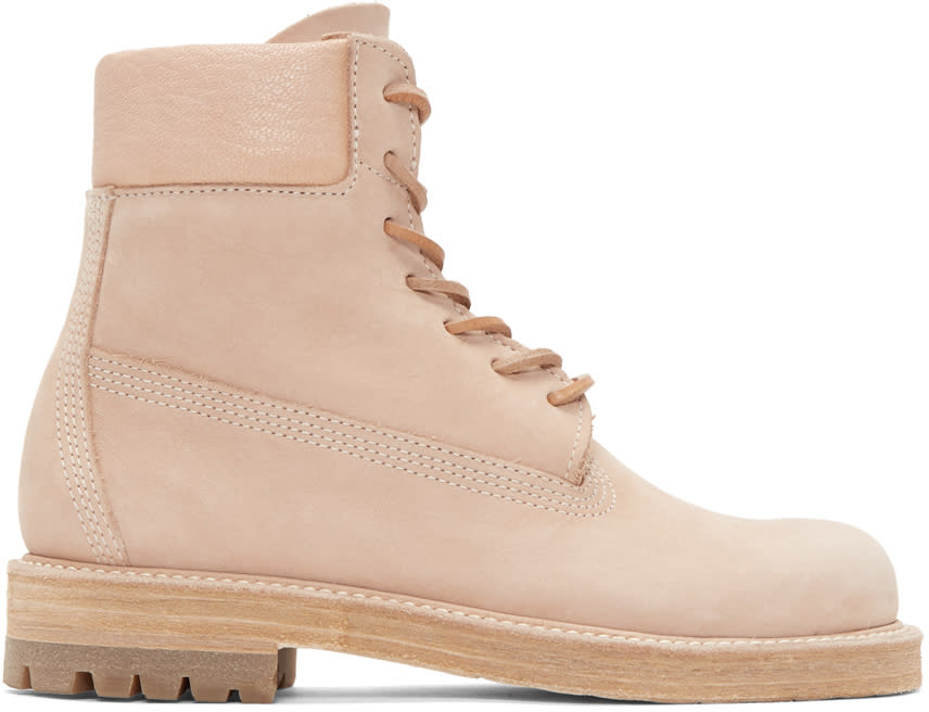 Image of Hender Scheme Beige Manual Industrial Products 14 Boots