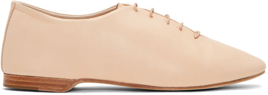 Image of Hender Scheme Beige Manual Industrial Products 13 Oxfords