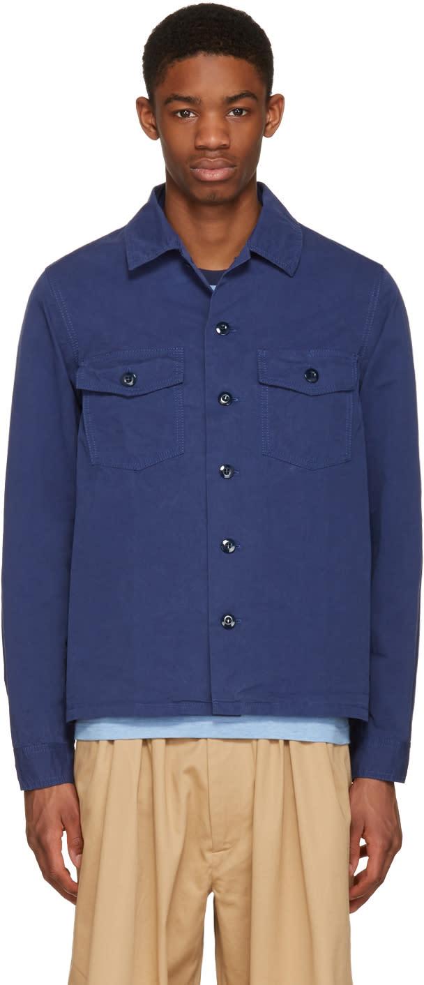 Ganryu Navy Twill Shirt