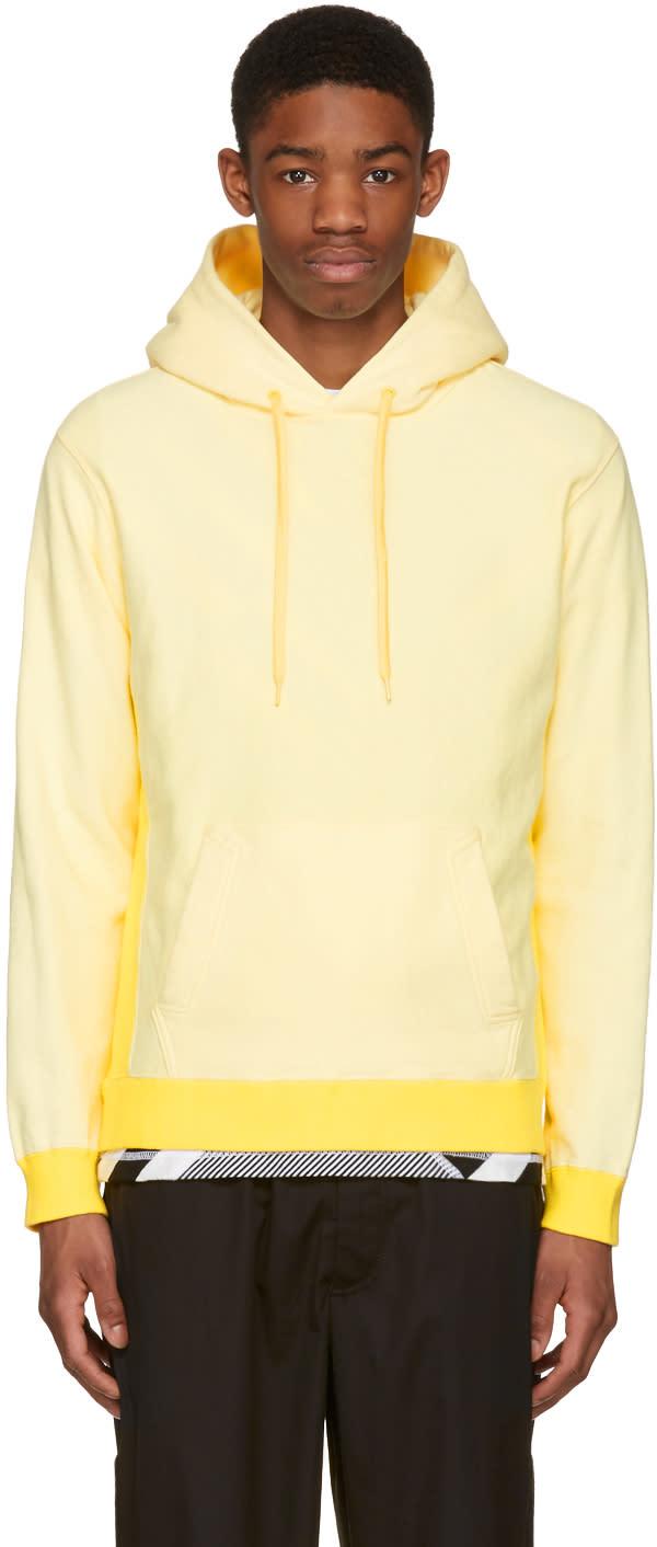 Ganryu Yellow Cotton Hoodie