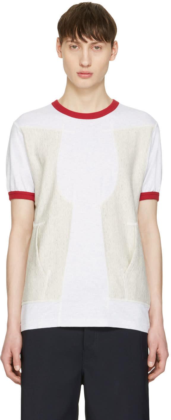 Ganryu Red Pocket Ringer T-shirt