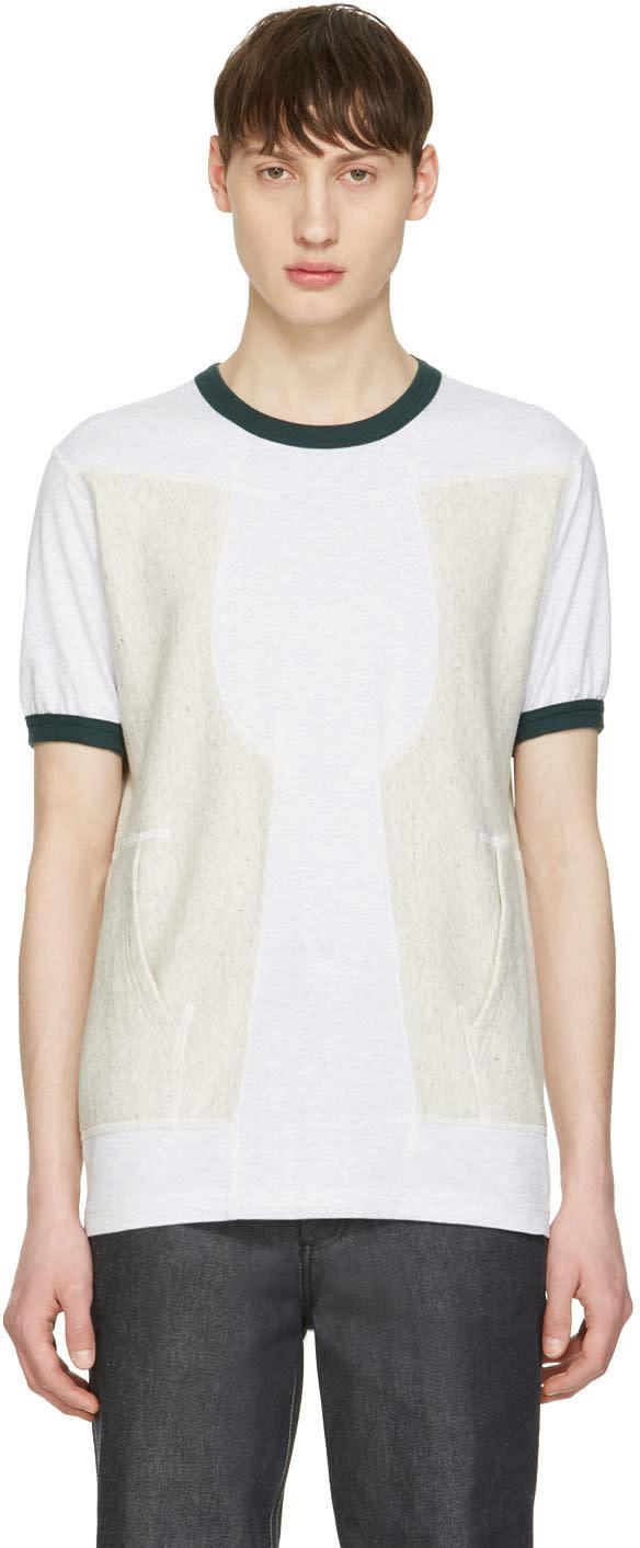 Image of Ganryu Green Pocket Ringer T-shirt