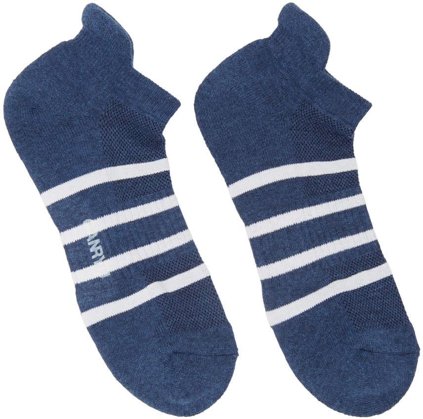 Ganryu Indigo Striped Socks