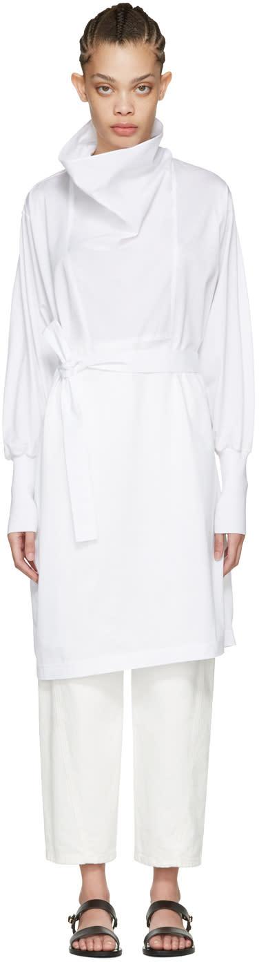 Nehera White Darton Dress