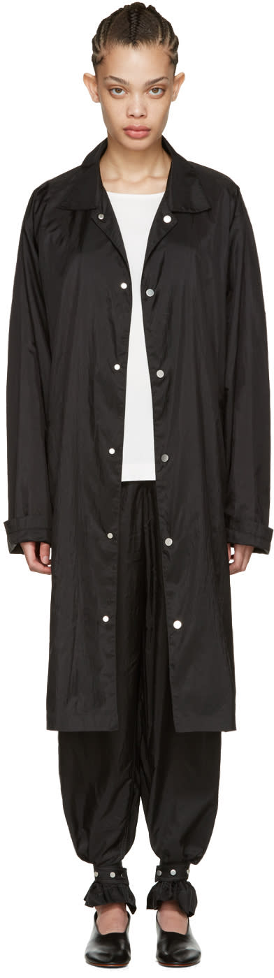 Image of Nehera Black Colla Rain Coat