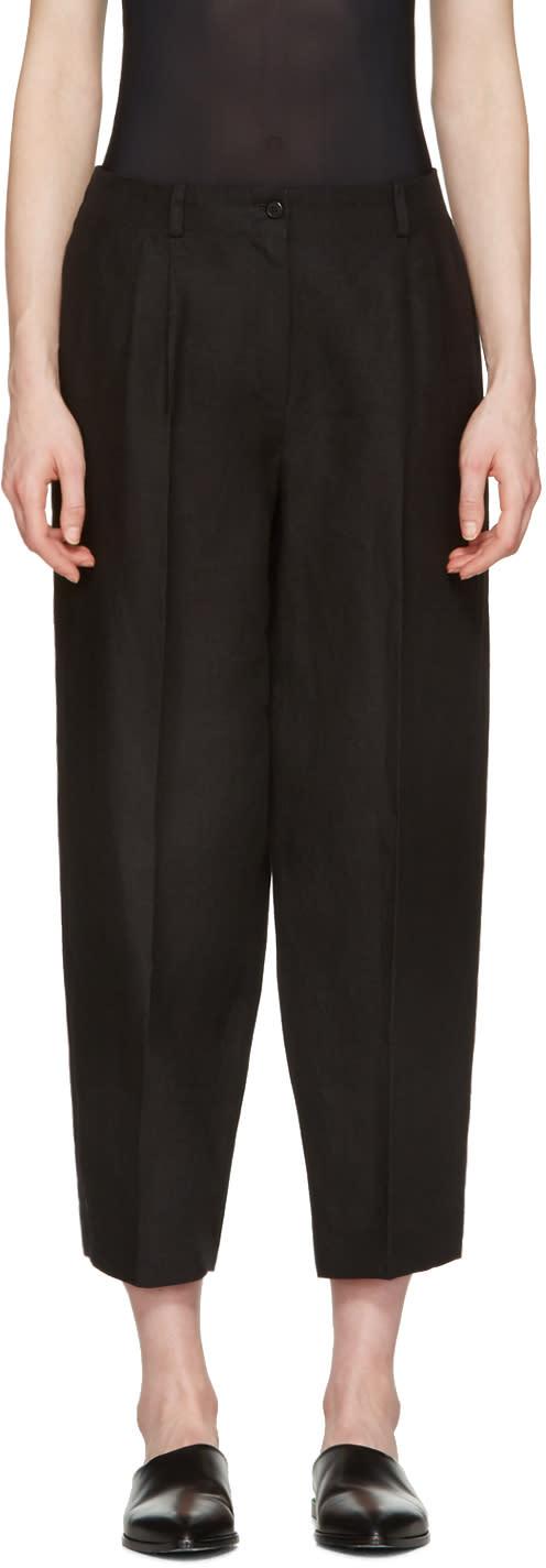 Nehera Black Round Essential Trousers