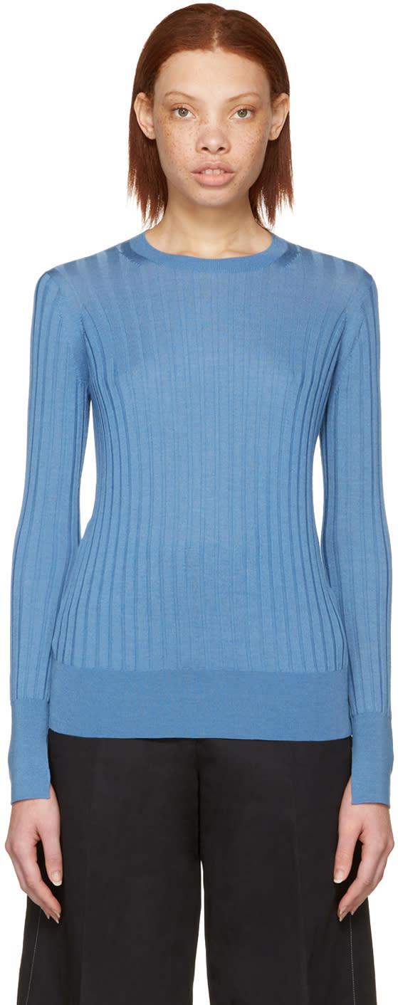 Cyclas Blue Wide Rib Pullover