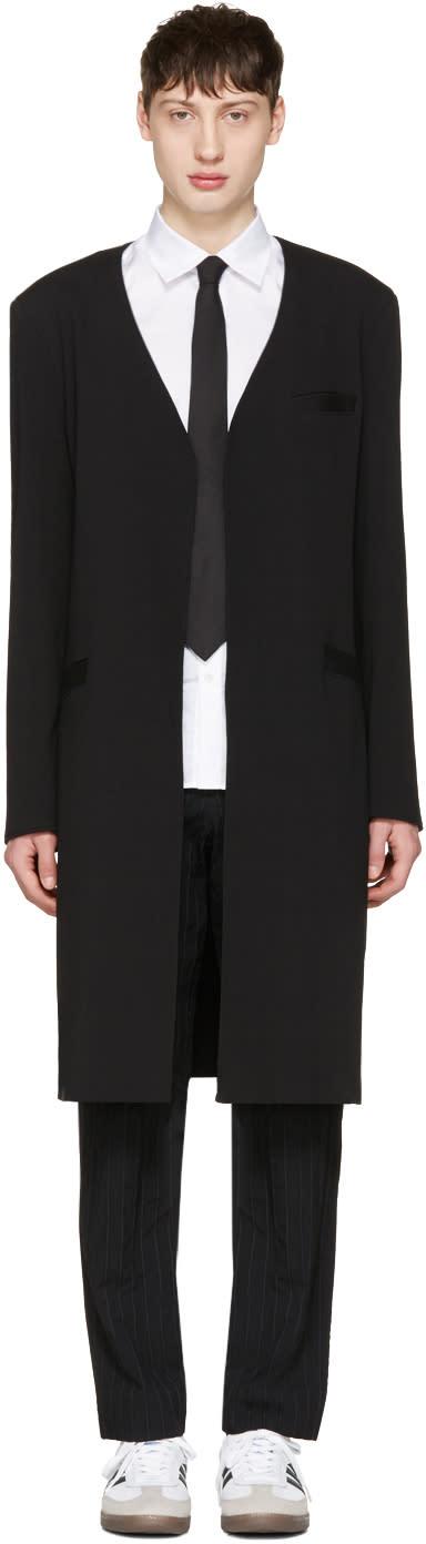 Image of Curieux Black Gambit Coat