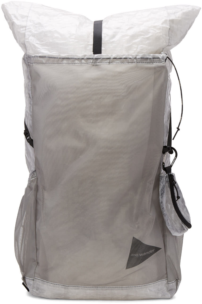 And Wander White Cuben Fiber Backpack
