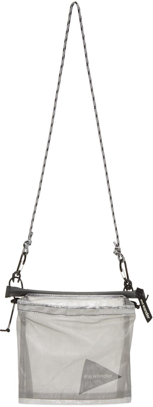 And Wander Grey Cuben Fiber Bag