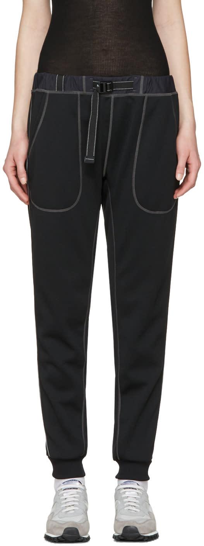 And Wander Black Ponte Lounge Pants