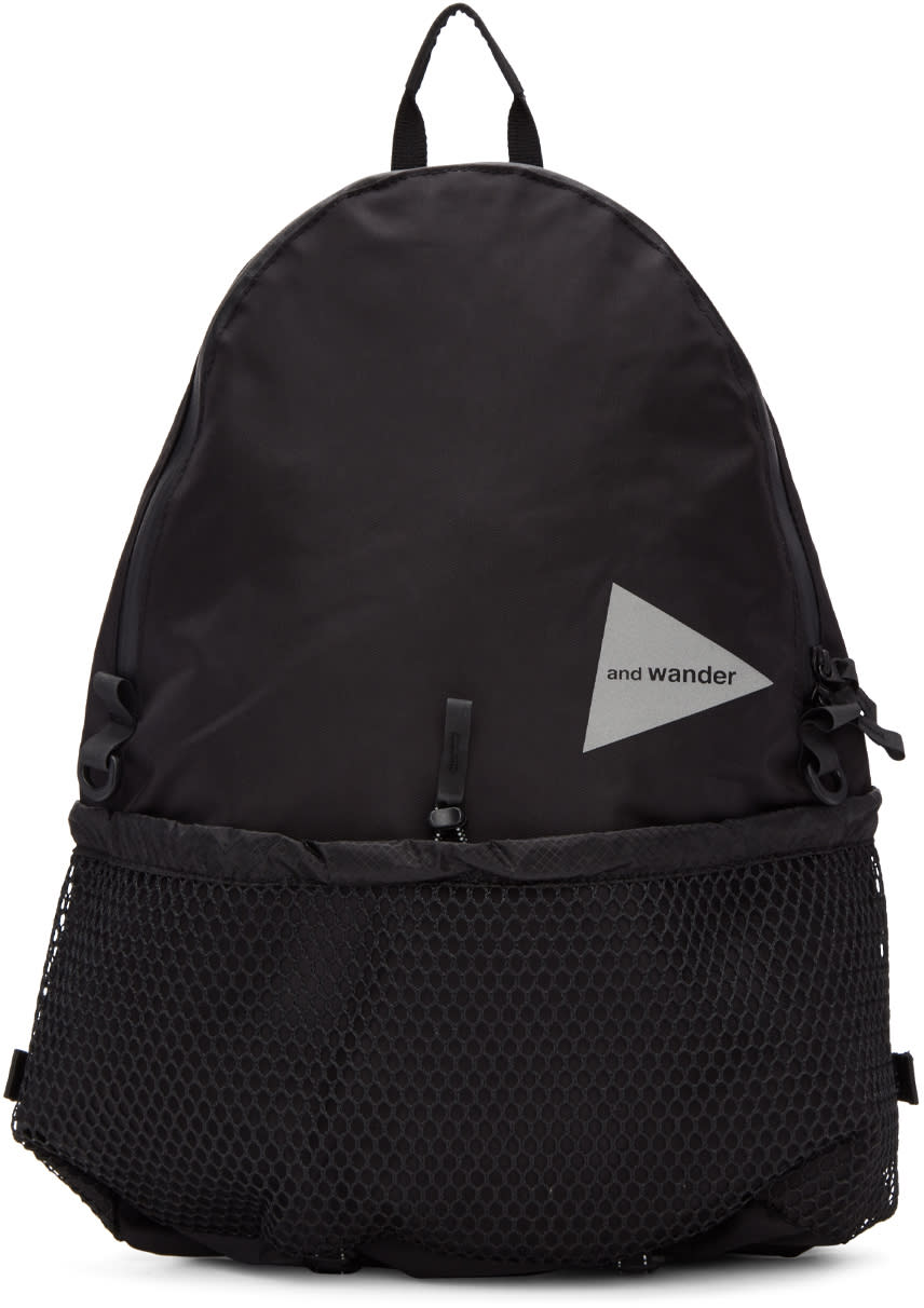 And Wander Black 20l Daypack Backpack